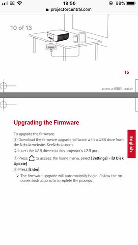 nebula by anker prizm ii firmware update