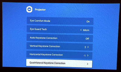 21_Setting_Projector_Autokeystone