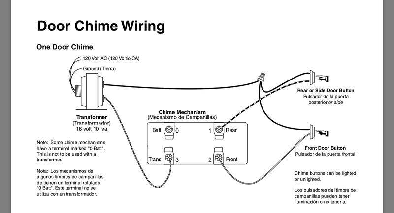 broan nutone doorbell wiring diagram  wiring diagram 67