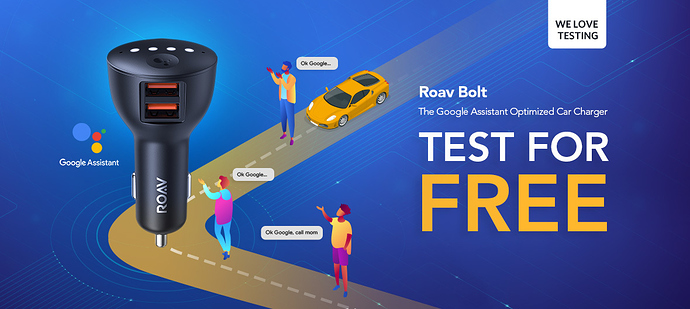 We Love Testing | Roav Bolt - Deals & Giveaways - Anker