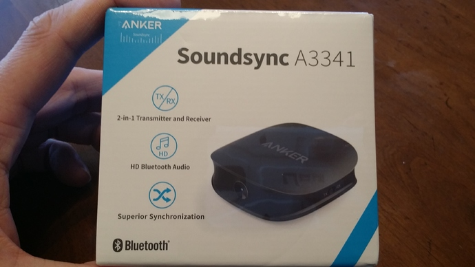 Review of Anker Soundsync A3341 Bluetooth 2-in-1 Transmitter