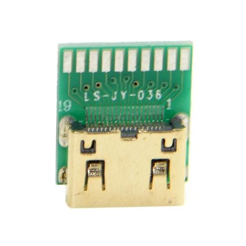 10pcs-mini-hdmi-1-4-type-c-female-socket