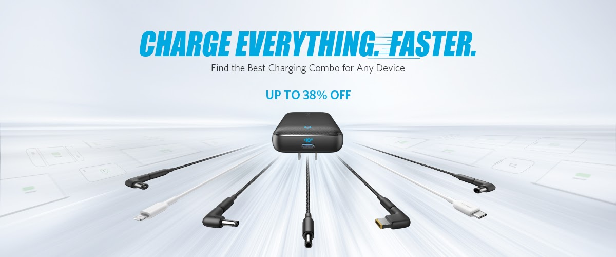 Charge Everything Faster Big Discounts And Better Charging Deals Giveaways Anker Community