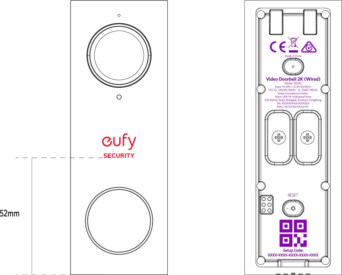 New Release] Eufy Security 2K UHD Video Doorbell - General