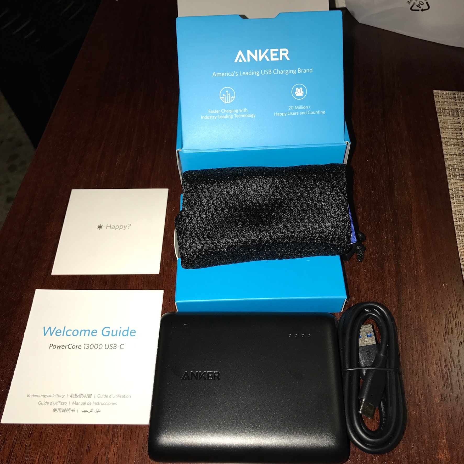 anker powercore 10000 instructions