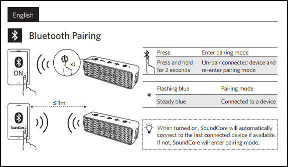 Soundcore 2 Issues With Bluetooth Pairingswitching Devices Qa